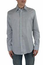 "Dolce & Gabbana ""Slim Fit"" Men's Multi-Color Striped Dress Shirts US 16.5 17"