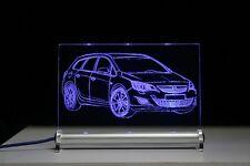 LED-Leuchtschild graviert ist  Opel Astra J Sport Tourer Präsent gift