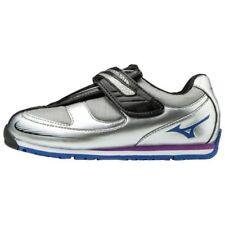 Mizuno Japan Kids' Shoes Wild Kids Star 3 K1GD1734 Silver × Blue × Black