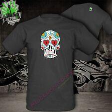 T-shirt la Catrina mexicano azúcar cráneo Skull tatuaje calavera motivo 8