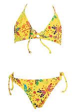 Hering Toddler Girls' Yellow Two Piece Bikini Swimsuit U057