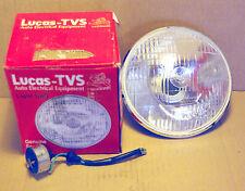 Reflektor Lucas gewölbtes Glas 7 inch Triumph Norton BSA AJS Triton Matchless