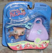 Littlest Pet Shop  FERRET w hammock BLUE leash  209