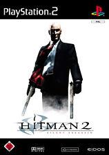 Hitman 2-Silent Assassin-SONY PLAYSTATION 2 ps2-SOLO CD