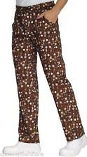 Pantaloni x divisa con elastico e coulisse BAR CREPERIA FANTASIA CIOCCOLATO