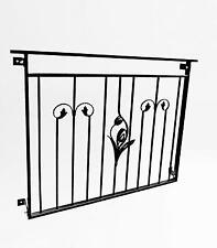 French door metal balustrade,wrought iron railings, design 19 of 23 Jullimett