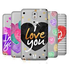 Case Designs adorable Corazones Suave HEAD Gel caso para SAMSUNG TELÉFONOS 2