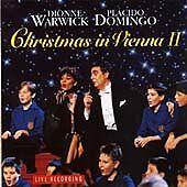 Christmas in Vienna II, Plácido Domingo, Dionne Warwick,, Very Good CD