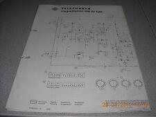 TELEFUNKEN Magnetophon 500 de Luxe Schaltplan