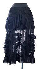Steampunk Victorian Lolita Gothic Rock Spitze schwarz