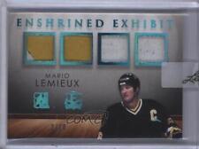 2016 Leaf In the Game Enshrined Exhibit Blue Spectrum #EE-12 Mario Lemieux Card