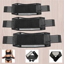 M-XL Tourmaline Self Heating Lower Back Belt Support Brace Backache Relieve