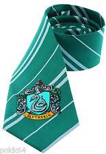 Harry Potter Cravate Serpentard verte emblème Slytherin 100% microfibre 560202