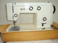 ALFA   312   ZIG-ZAG   SEWING MACHINE  INSTRUCTION MANUAL.