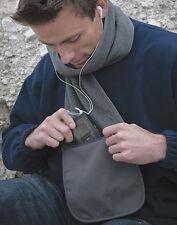 Sciarpa in pile con tasca  Numero articolo 842.33 Codice fornitore: R100X