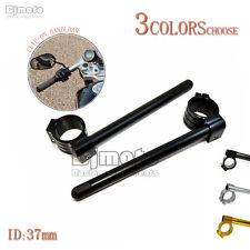37mm Clip On Handle Grip Handlebar For Honda CBR 250R 2011-2013 CBR600F 87-90