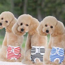 Female Pets Dog Panty Sanitary Pants Underwear Hygienic Cotton Briefs