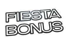 Genuine New FORD FIESTA BONUS DECAL Emblem MK3 1.1 1.2 1.3 1989-1997