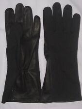 Pilot gloves leather, nomex Flight Glove fire,heat,flame resistance Black& Green