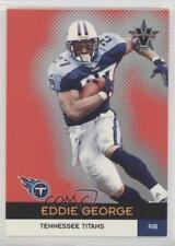 2000 Pacific Vanguard Premier Date #60 Eddie George Tennessee Titans Card