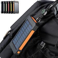 300000mAh Dual USB Portable Solar Battery Charger Solar Power Bank For Phone USA