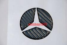 Mercedes-BENZ W202 Carbon Rear Trunk Emblem Badges