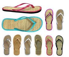 Women's Bamboo Sandal Flip Flops Flats Beach Summer Shoe Comfort Clearance-1212