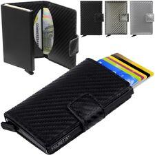 figuretta Porte-cartes de Crédit Porte-monnaie Protecteur carte Aluminium RFID