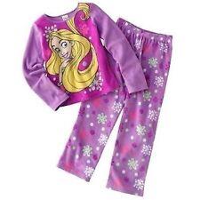 Disney Princess Tangled Rapunzel 2 PC Long Sleeve Pajama Set Girl Size 10