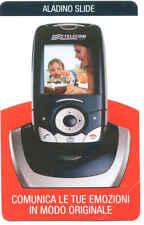 ALADINO SLIDE 7.50 EURO SCHEDA TELEFONICA TELECOM NUOVA 2158