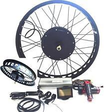 LCD or TFT Display + Disc Brake+3000W Hub Motor Elektrofahrräder Umrüstungs Kit