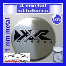 METAL STICKERS WHEELS CENTER CAPS Centro LLantas 4pcs XXR 3