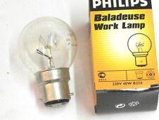 Ampoule 230V-40W  pour baladeuse d'atelier PHILIPS B22d