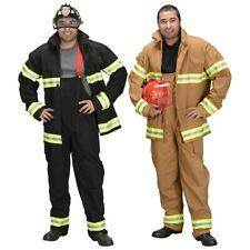 Adult Firefighter (Pants & Jacket Only) Costume Halloween Fancy Dress