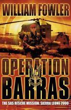 NEW - Operation Barras: The SAS Rescue Mission: Sierra Leone 2000