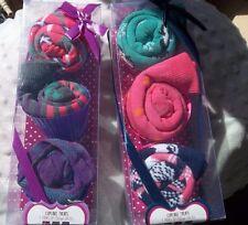 Cupcake Treats Women's 3 Pair of Crew Socks CUTE!  New in Box