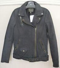 NWT MUUBAA Narayan Blouson Leather Biker Jacket Retail $625