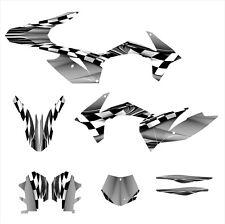 2011 2012 KTM SX SXF 125 150 250 350 450 graphics custom deco kit #2500 Metal