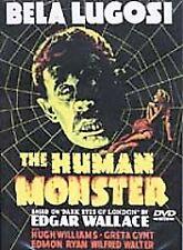 THE HUMAN MONSTER (DVD, 2002) BNISW DAY U PAY IT SHIPS FREE LUGOSI