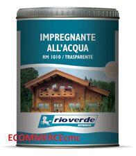 Impregnante classico per legno all'acqua lt.0,75/2,5 RENNER ITALIA! Tutti colori