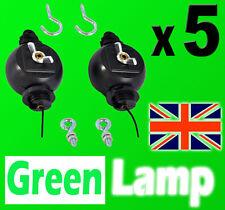 5 PAIRS  Yoyo Roller Easy Hanger Reflector Hood Lamp Hydroponics Light grow tent