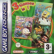 Gameboy Advance *SP NDS SPONGEBOB + RUGRATS + TAK * NEU