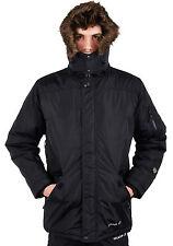 Para Hombre ubicación Hunter One-10 Militar Parka Chaqueta Impermeable acolchado abrigo acolchado
