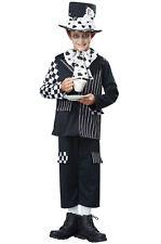 Dark Mad Hatter Alice in Wonderland  Boys Child Costume
