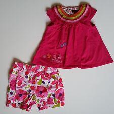 Catimini Baby Girls Pink Cotton 2 Pcs Sets Size 12M/18M