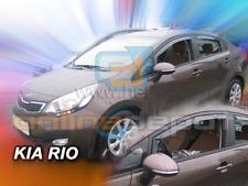 Wind Deflectors KIA RIO 5-doors 2011-2017 2-pc Hatchback Saloon HEKO Tinted