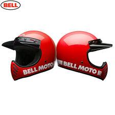 Bell CRUISER 2017 MOTO 3 Clásico Moderno Rojo Motocicleta Casco MX