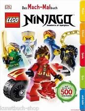 Fachbuch LEGO® Ninjago™ Mach-Malbuch, toller Spaß mit über 500 Stickern, NEU
