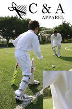 Kids Boys Girls Long Sleeve Cricket Top Polo Shirt Cricket Pants Sports Wear Set