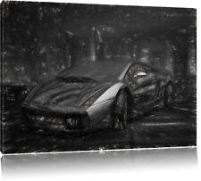 Lamborgini Gallardo Leinwandbild Wanddeko Kunstdruck